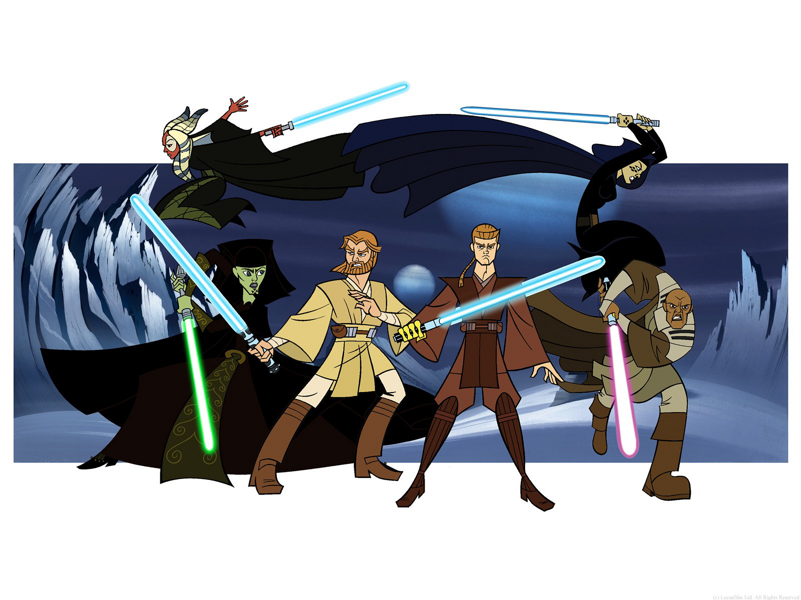 Plus Woman Pics Star Wars Cartoon Wallpapers