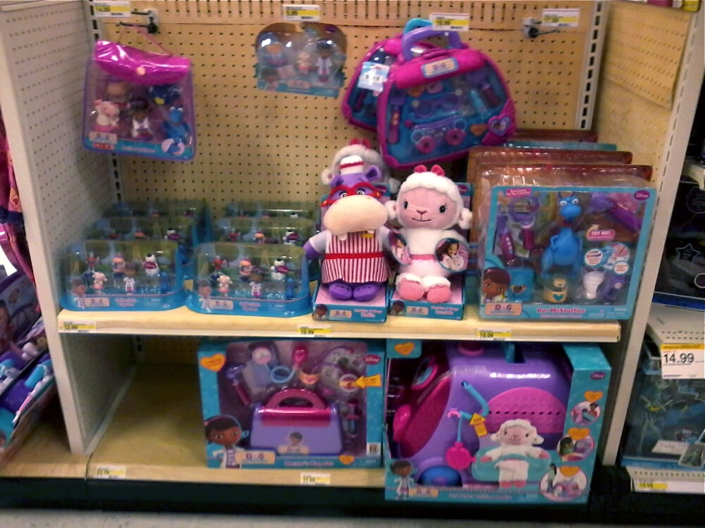 """Doc McStuffins"""" Dolls by The Disney Store and Just Play 