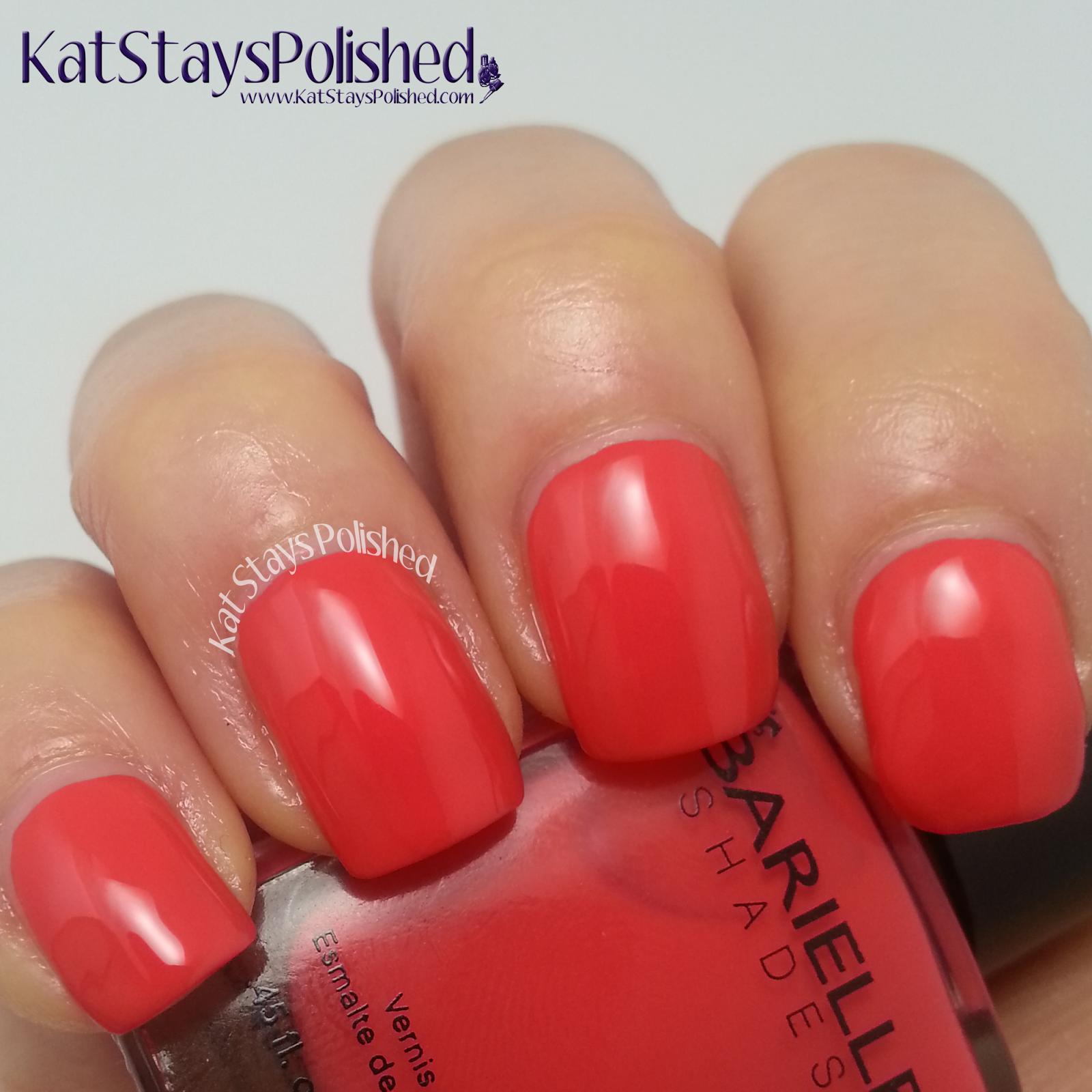 Barielle Spring Vibrants 2014 - Take Me Shopping | Kat Stays Polished