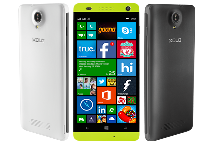 XOLO Win Q1000 with Windows Phone 8.1