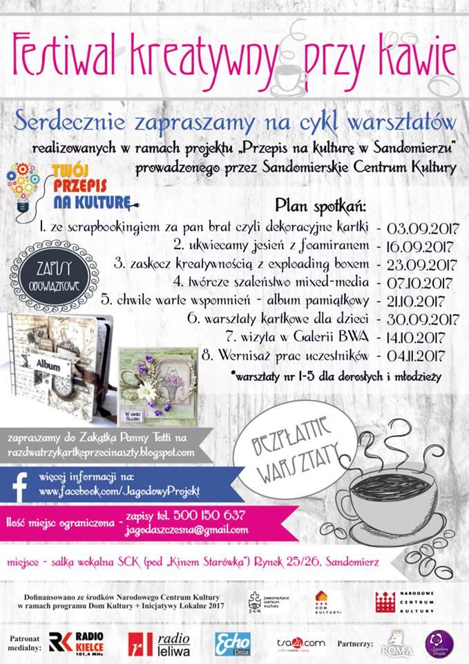 Warsztaty w Sandomierzu - Jagodowy Projekt