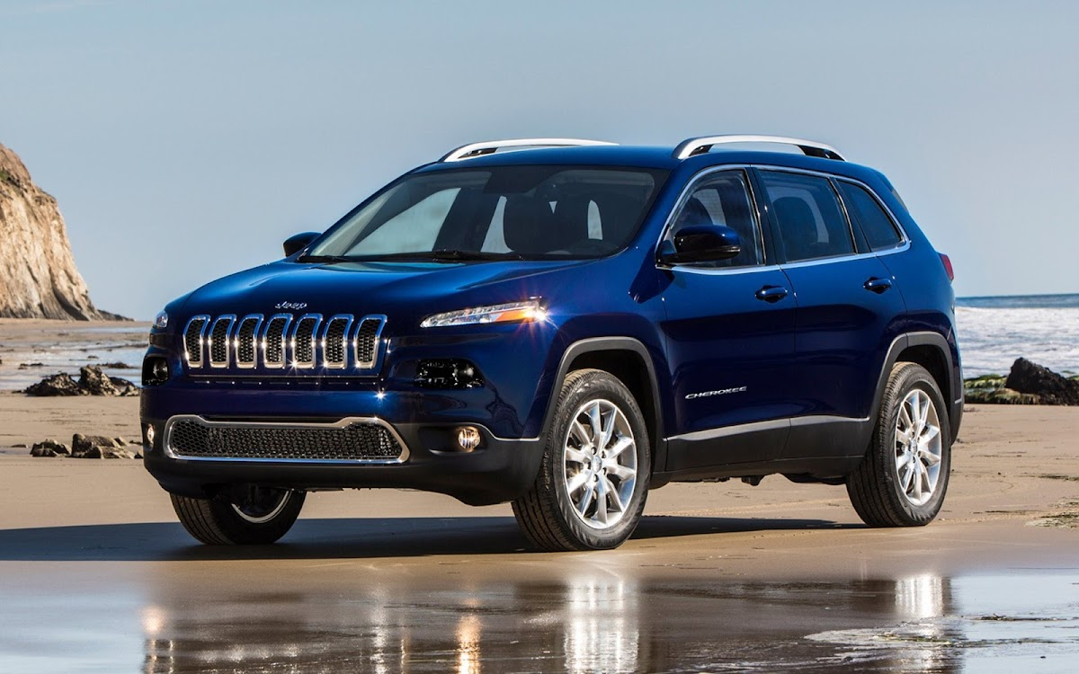 2014 Jeep Cherokee Widescreen HD Wallpaper