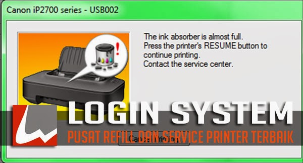 Tutorial Cara Gampang Reset Printer Canon IP2770
