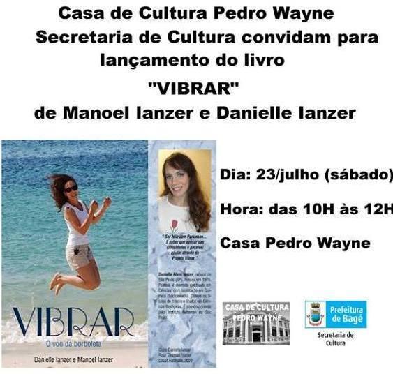 Convite Casa de Cultura Bagé