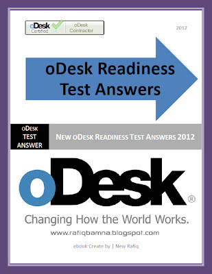 oDesk Readiness Test Answers Ebook 2012
