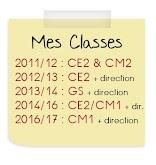 Mes classes