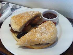 Stitch and Bear - Breakfast bap at Idaho Cafe Cork