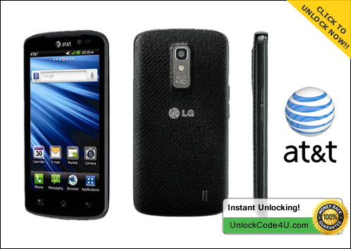 Factory Unlock Code for P930 Nitro HD from AT&T