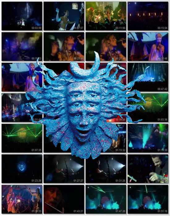 Shpongle - Live London 2008 ... 115 minutos