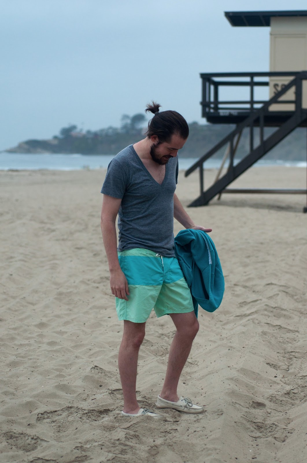 fashion blog, fashion blogger, style blog, style blogger, mens fashion, mens fashion blog, mens style, mens style blog, womens style blog, anthropologie ootd blog, anthropologie ootd, anthropologie, ootd, mens ootd, womens ootd, mens beach wear, beach wear, what to wear to the beach, zara swim shorts, zara, sperry topsider, color block swim, color block, american apparel, california beach, beach, target, target mens tank top, target tank,