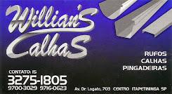 Willians Calhas, RUFOS, PINGADEIRAS