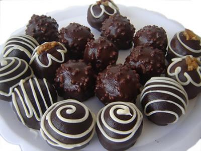 Receita doces de casamento