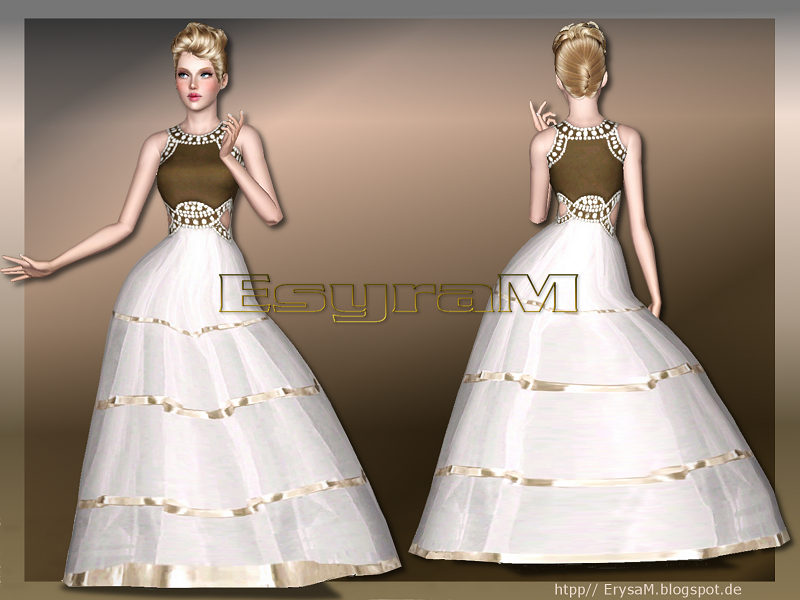 My Sims 3 Blog Tulle Ball Gown By Erysam
