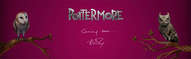 pottermore55 POTTERMORE EST ENFIN OUVERT  TOUS !