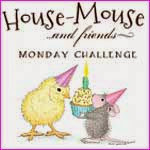 Grab any of HMFMC buttons & link your Creations featuring House-Mouse, Happy Hoppers & Gruffies!