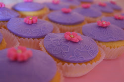 Simple Deco Budget Fondant Cupcake