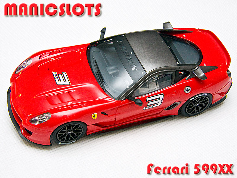 Ferrari 599xx slot car