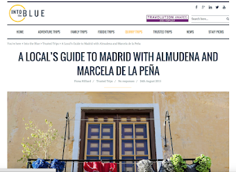 My Little Madrid on Ryanair's Magazine - Into the Blue