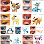 Pokemon Eye Makeup