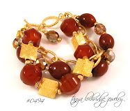Carnelian & Gold Vermeil Perfect Partners