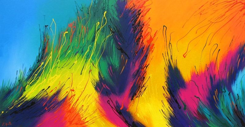 Abstractos modernos imagui for Fotos cuadros abstractos modernos