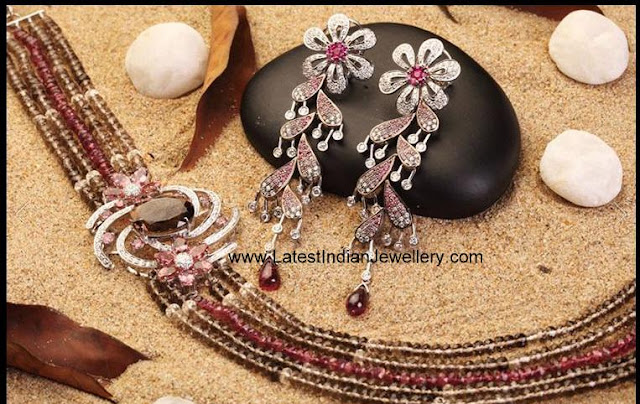 colored beads diamond mugappu