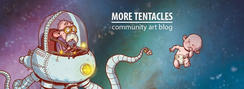 More Tentacles - community art blog