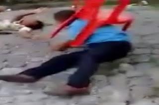 Deficiente é agredido por duas mulheres e uma travesti