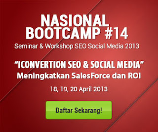 Seminar & Workshop SEO Social MEdia 2013