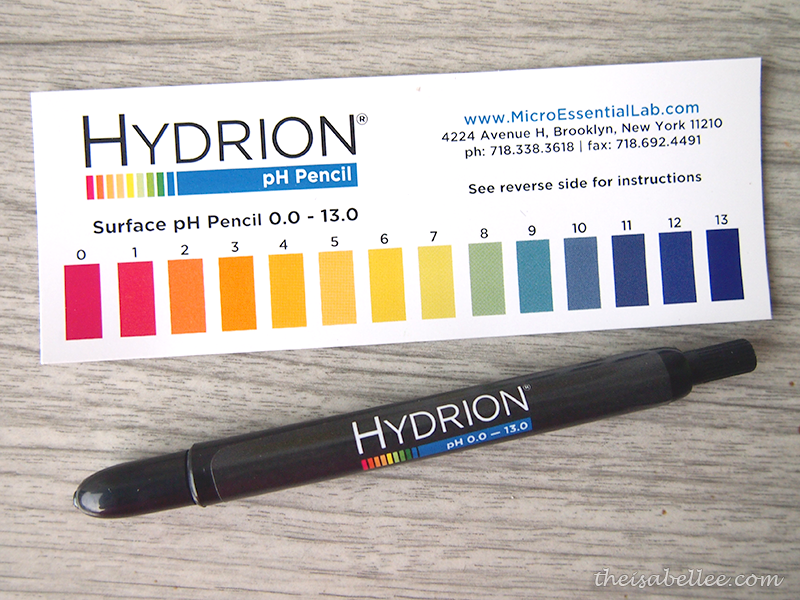 Hydrion pH pencil