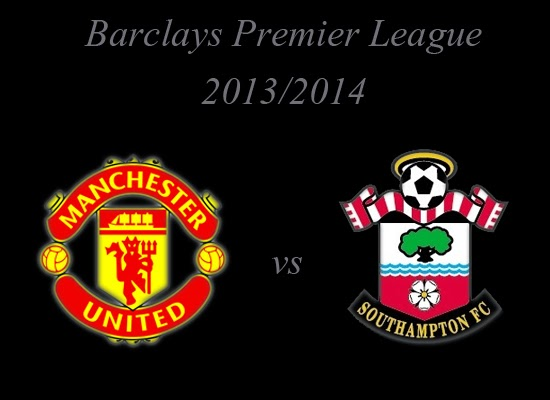 Manchester United vs Southampton Premier league 2013