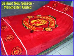 Jual Selimut New Seasons Blanket Manchester United