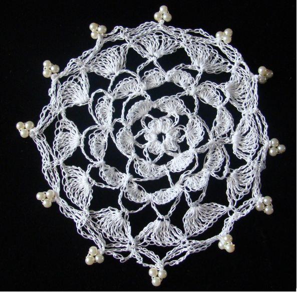Busy Crafting Flower Petals Crochet Milk Jug Cover Pattern