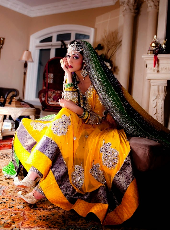 Exclusive Embroidered & Fancy Beautiful Wedding Bridal ...