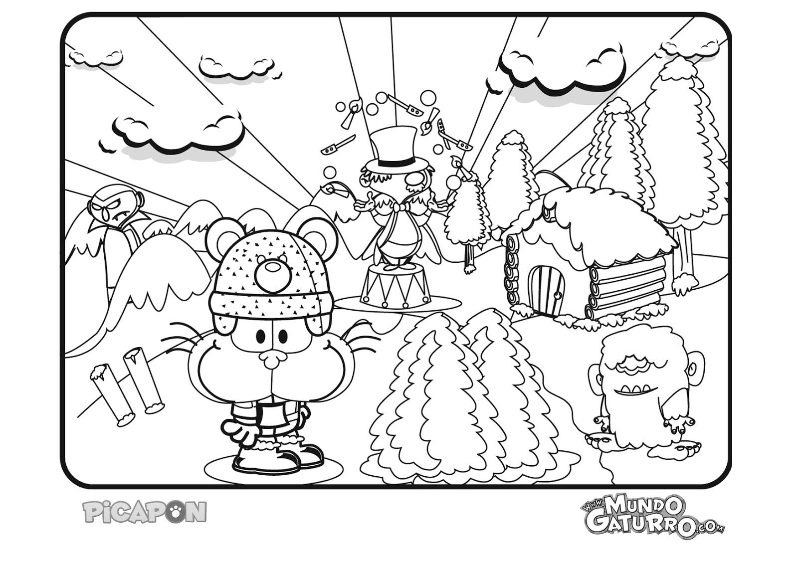 novedades de mg: Dibujos para Colorear