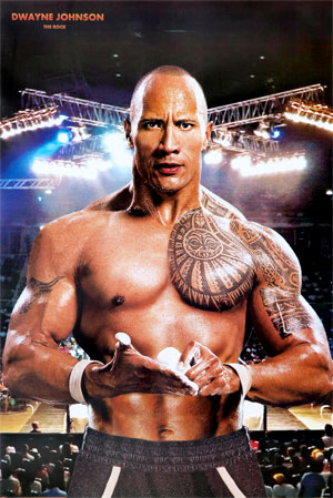 Dwayne Johnson Tattoo Design