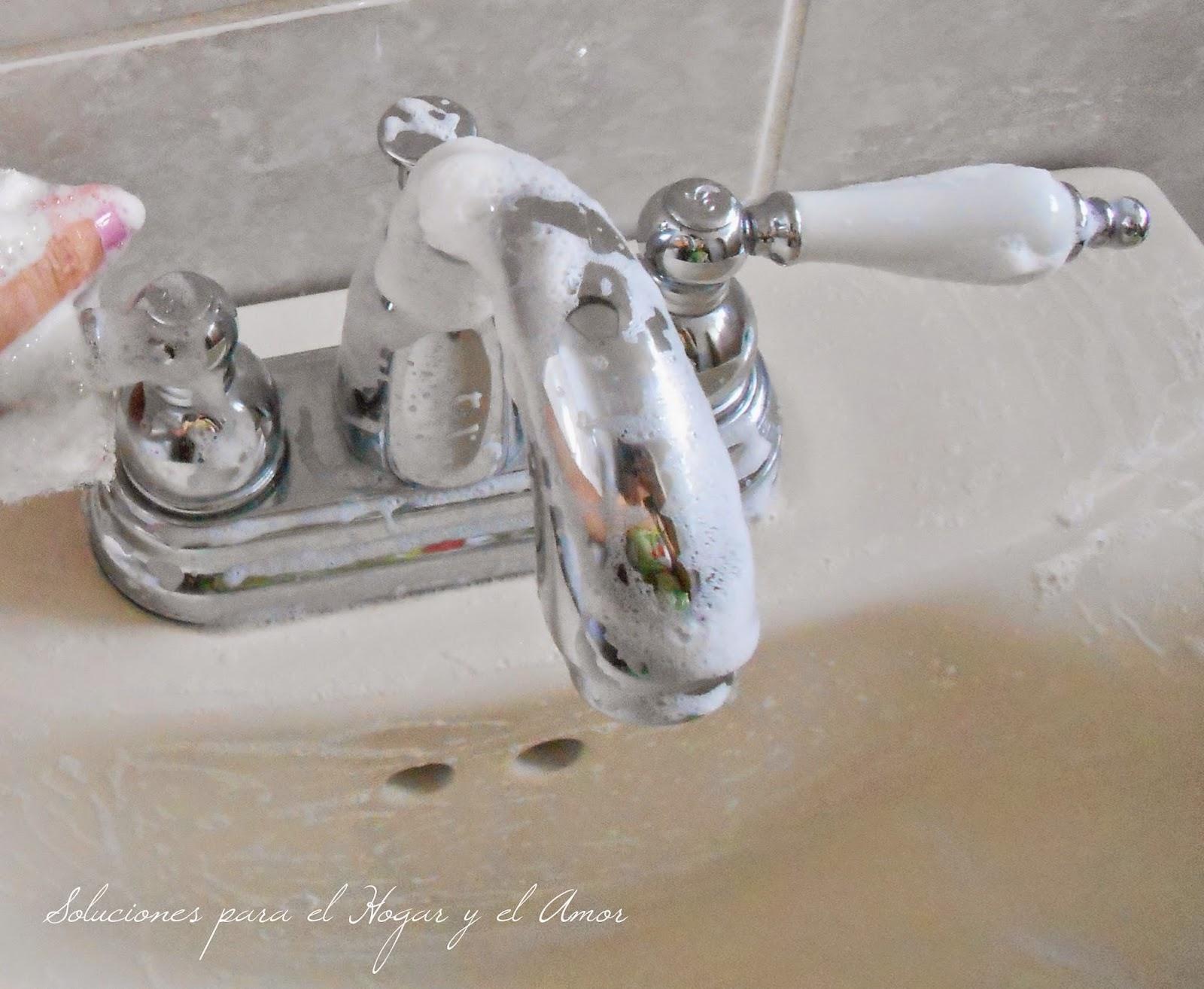 Como limpiar el baño, como limpiar lavamanos facil