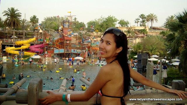 Lady at Wild Wadi Dubai