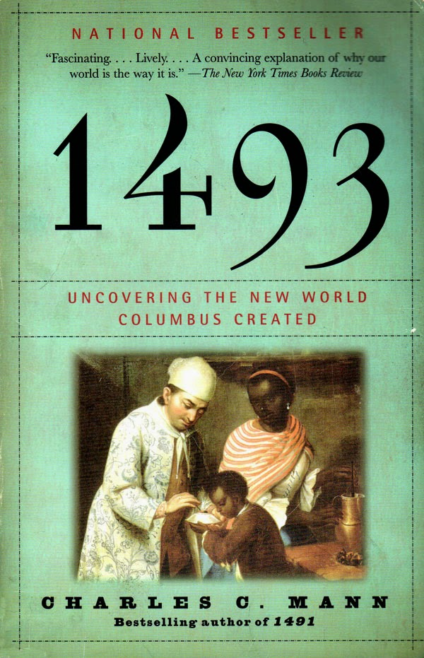 cover of the book 1493 by Charles C. Mann