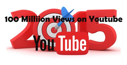 100 ล้านวิวบน Youtube