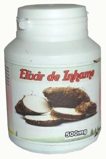 Frasco de Elixir de inhame