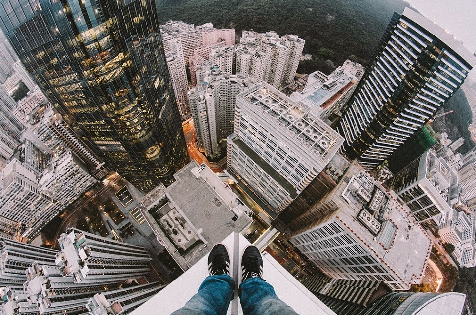صورة من أعلى مبنى