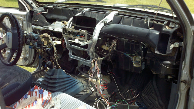 nissan frontier radio wiring diagram the beast build log more dash restoration  and a bit of flare  the beast build log more dash restoration  and a bit of flare