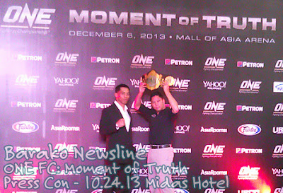ONE FC Moment of Truth Press Con