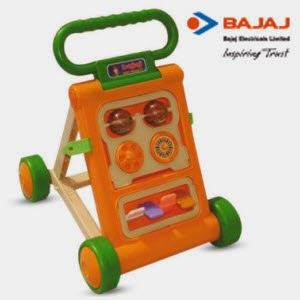 Paytm : Buy Bajaj Baby Activity Walker $ Rs. 513 cashback at Rs.1025 : Buy To Earn