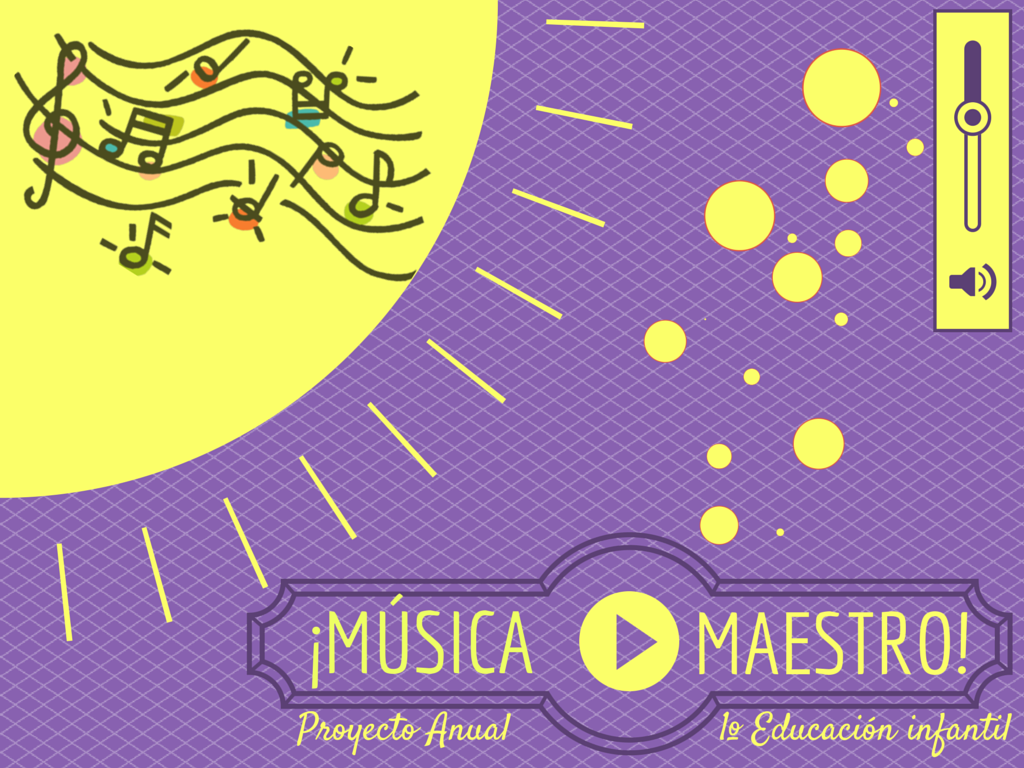 "Proyecto anual ""Un curso de música"". 1º E. Infantil. Curso 2014-15"