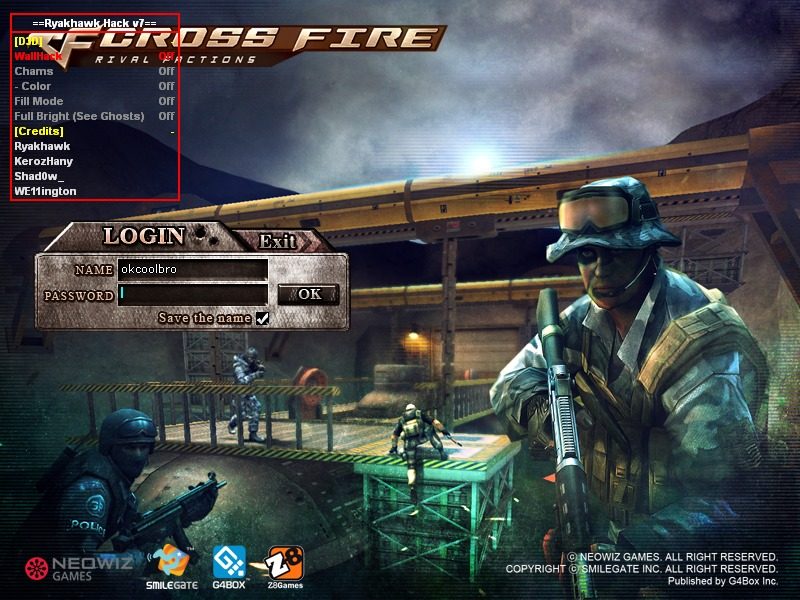 CrossFire Hilesi Ryakhawk D3D Menu v7.0 indir – Download