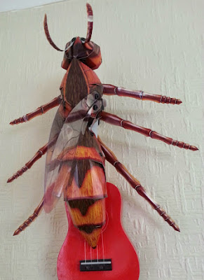 Interplay Giant Hornet craft kit paperfolding