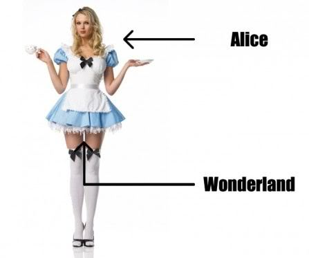 funny pictures, sexy, alice in wonderland
