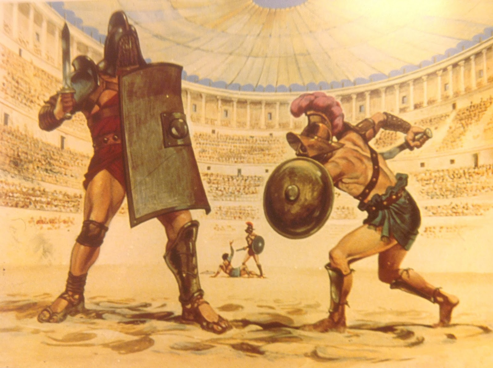 the colosseum and gladiators essay Custom colosseum essay writing service || colosseum essay samples, help the gladiatorial games probably originated as part of the funeral rites for prominent romans, but they eventually became the most popular form of entertainment which is known to us as roman games.